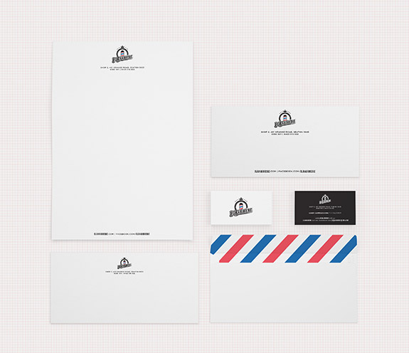 Barbiere Stationery