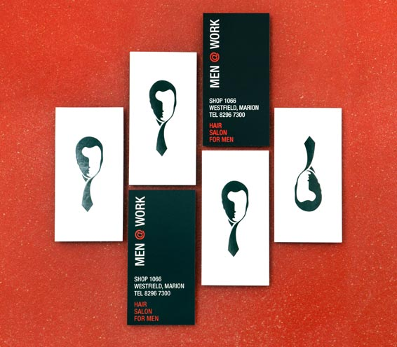 Men@work Business Cards